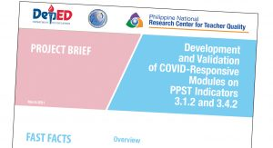 NEAP, RCTQ to jointly develop covid-responsive modules for teachers, school leaders