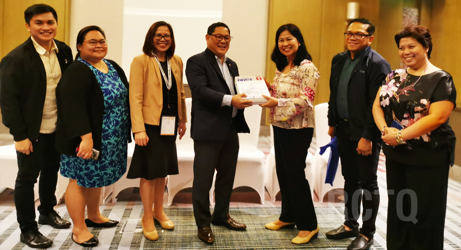 RCTQ turns over PPST support materials to DepEd