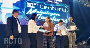 RCTQ director, PNU professors recognized at Best Makatizen Teachers award ceremony