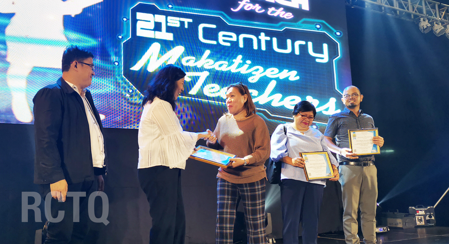 RCTQ director, PNU professors recognized at Best Makatizen Teachers award ceremony