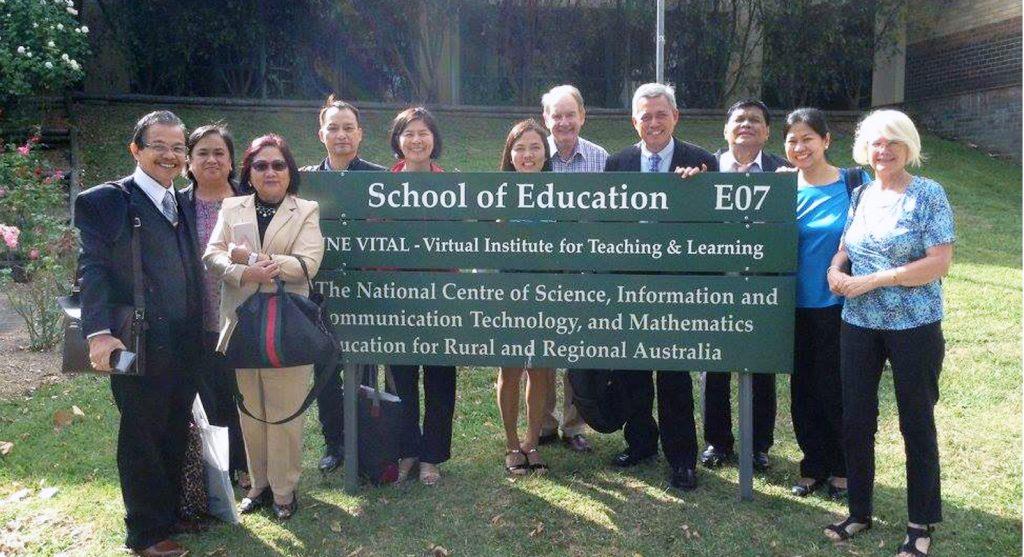 #FilAussieDay Throwback: 3NS presidents as Australia Awards Fellows