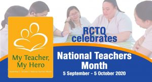 RCTQ gears up for National Teachers Month celebration