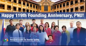 Happy 119th Founding Anniversary, PNU!