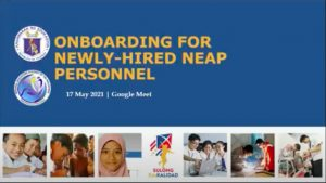 RCTQ supports NEAP in onboarding newly-hired personnel