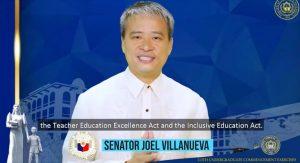 Sen. Villanueva praises PNU, RCTQ's roles in legislating education policies