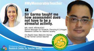 #NationalTeachersDay: RCTQ senior manager shares fond memories of her memorable teacher