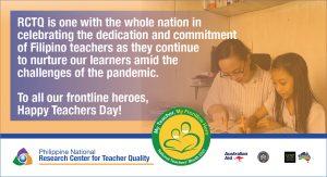 RCTQ celebrates #NationalTeachersDay 2021